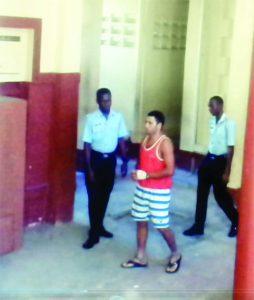 Murder accused, Makail Jackson Da Silva