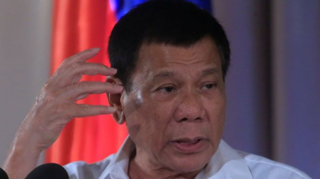 President Duterte has dismissed criticism of his anti-drugs policies (Reuters Image)