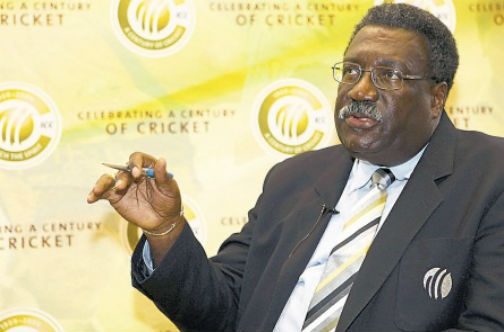 Former West Indies captain Clive Lloyd